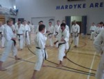 Kato Shihan, IJKA Karate, in Cork, Southern Ireland